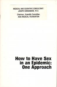 how to have sex in an epidemic (Ausgabe Mai 1983)