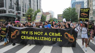 HIV is not a crime! Criminalizing it is!