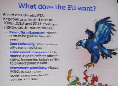 What does the EU want?
